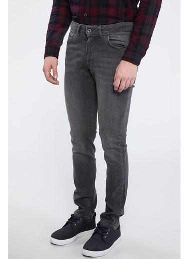 DeFacto Pedro Slim Fit Denim Pantolon Gri